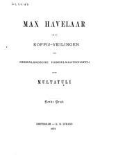 Max Havelaar: of De koffij-veilingen der Nederlandsche Handelmaatschappij