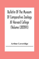 Bulletin Of The Museum Of Comparative Zoology At Harvard College (Volume Lxxxvii); Revision Of The African Snakes Of The Genera Dromophis And Psammophis