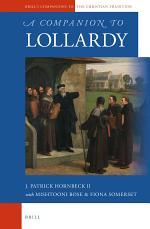A Companion to Lollardy