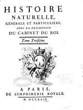 Histoire naturelle: générale et particulière, Volume3