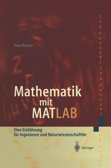 Mathematik mit MATLAB PDF