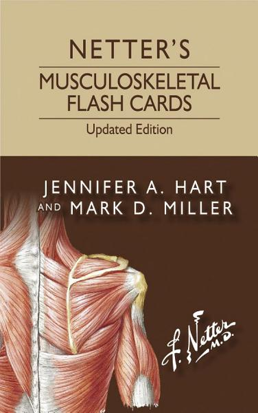 Netter's Musculoskeletal Flash Cards