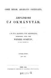 Codex diplom. arpadianus continuatus. Arpadkori uj okmanytar ... Ötödik kötet 1290-1301. (Neues Urkundenbuch aus der Zeit der Arpaden): 1A,10