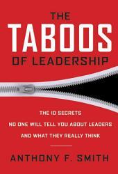 The Taboos Of Leadership Book PDF