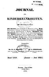 Journal für Kinderkrankheiten: Bände 24-25
