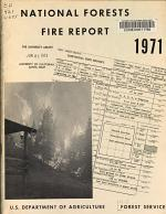 National Forests Fire Report