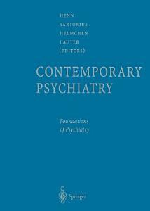 Contemporary Psychiatry Book