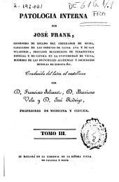 Patología interna: Volumen 3