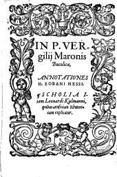 In Bucolica annotationes H. Eobani