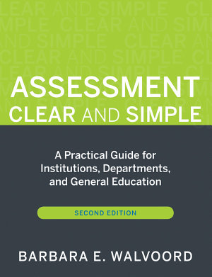 Assessment Clear and Simple PDF