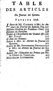 Le journal des sçavans, combiné avec les mémoires de Trévoux: Volume33