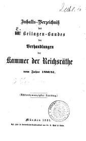 Verhandlungen des bayerischen Landtags: Beilagen, Bände 331-399