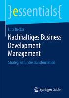 Nachhaltiges Business Development Management PDF