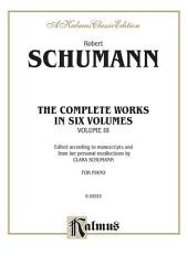 Complete Works, Volume III: Piano Collection