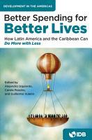 Better Spending for Better Lives PDF