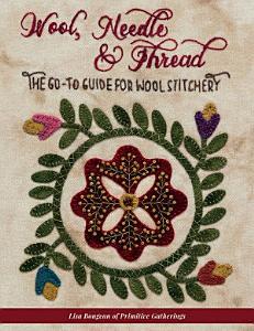 Wool  Needle   Thread Book