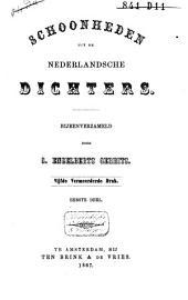Schoonheden uit de Nederlandsche dichters der 17de, 18de en 19de eeuw