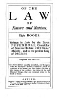 Of the Law of Nature and Nations     Translated into English  by Basil Kennet and others   The second edition     corrected  and compared with Mr  Barbeyrac s French translation  with the addition of his notes  etc PDF