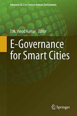 E-Governance for Smart Cities