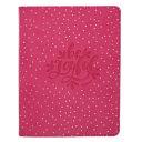 Journal Handy Dotted Pink Be Joyful