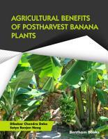 Agricultural Benefits of Postharvest Banana Plants PDF