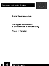 Old age insurance as a socioethical responsibility PDF