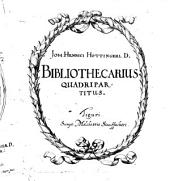 Bibliothecarius quadripartitus
