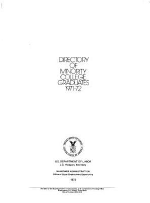 Directory of Minority College Graduates