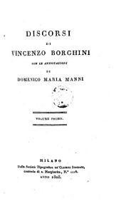 Discorsi di Vincenzo Borghini