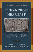 The Oxford History of the Ancient Near East PDF