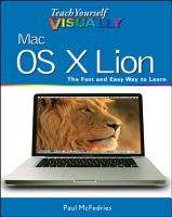 Teach Yourself VISUALLY Mac OS X Lion PDF