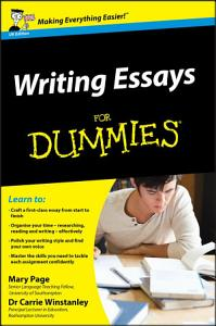 Writing Essays For Dummies PDF