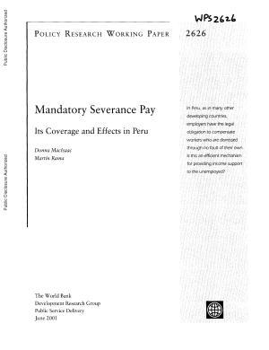 Mandatory Severance Pay