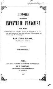 Histoire de l'ancienne infanterie française: Volume3