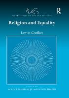 Religion and Equality PDF