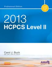 2013 HCPCS Level II Professional Edition -- E-Book