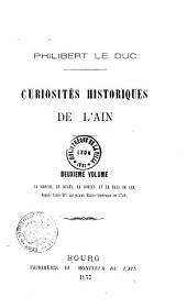 Curiosités historiques de l'Ain