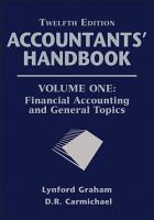 Accountants  Handbook  Financial Accounting and General Topics PDF