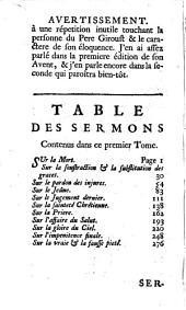 Sermons Pour Le Carême: Volume1