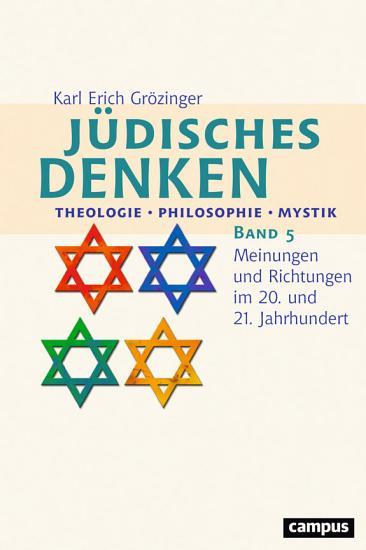 J  disches Denken  Theologie   Philosophie   Mystik PDF
