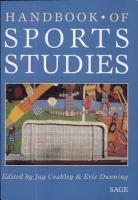 Handbook of Sports Studies PDF