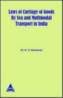 Laws of Carraige of Goods by Sea and Multimodal Transport in India PDF