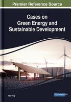 Cases on Green Energy and Sustainable Development PDF