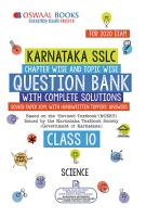 Oswaal Karnataka SSLC Question Bank Class 10 Science Chapterwise   Topicwise  For March 2020 Exam  PDF