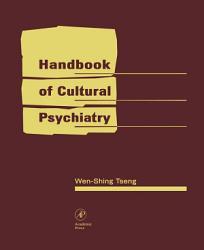 Handbook Of Cultural Psychiatry Book PDF