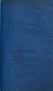 Discours de M. le Baron de Morogues, Pair de France, dans la discussion de la loi sur les douanes: séance du 9 juin 1836