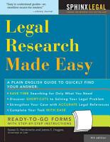 Legal Research Made Easy PDF