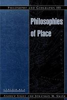 Philosophy and Geography III PDF