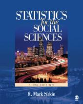 Statistics for the Social Sciences: Edition 3
