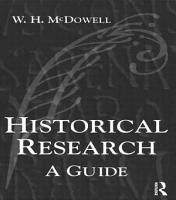 Historical Research PDF